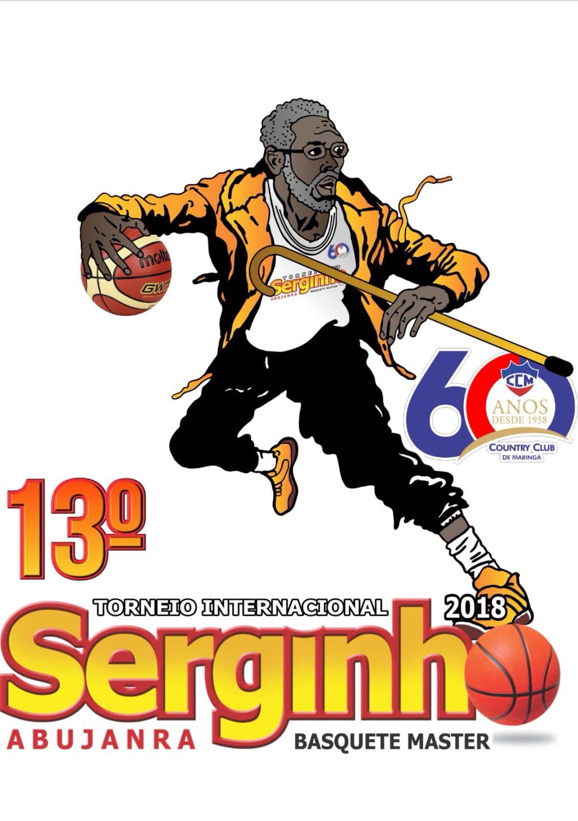 O 13° TORNEIO INTERNACIONAL SERGINHO ABUJANRA, ocorrerá de 06 a 09 de setembro no Ginasio de Esportes do Country Club de Maringá.